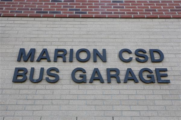 Repairs and updates at the Marion Bus Garage are part of the 2020 capital project proposal.