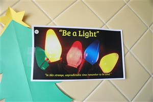 Be A Light Challenge at MES