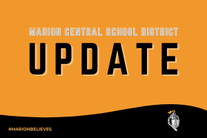 An important update from the Superintendent of Schools